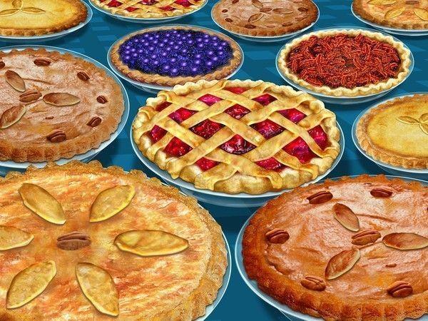 différentes tarte dessert